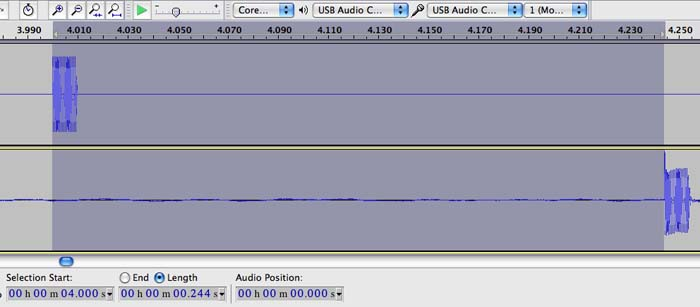 how to change audacity recording settings